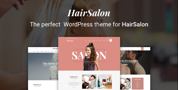 Hair Salon WordPress Theme – Hair Salon WP