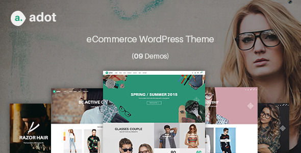 eCommerce WordPress Theme – adot