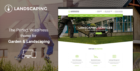 Landscaping WordPress Theme – Landscaping WP