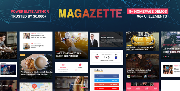 Magazette Magazine – News Blog & Magazine WordPress Theme