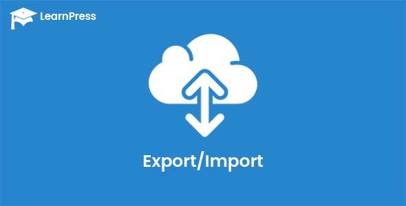 LearnPress – Export/Import