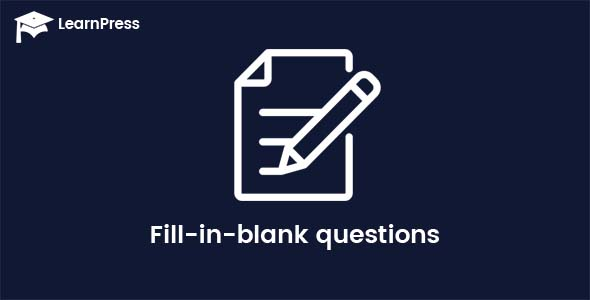 LearnPress – Fill-in-blank Questions
