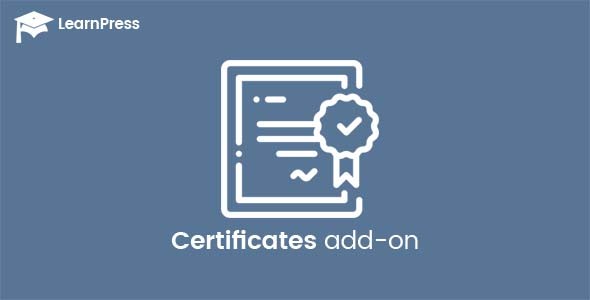 Certificates add-on